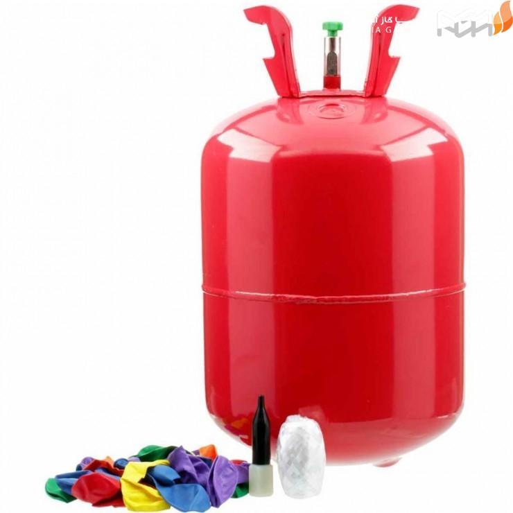 گاز هلیوم برای پر کردن بادکنک ها: