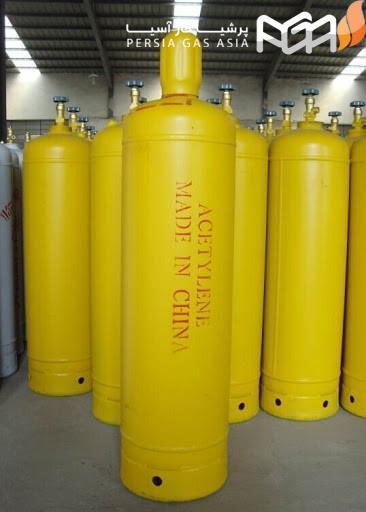 کپسول های گازی استیلن در این اندازه ها هستند :