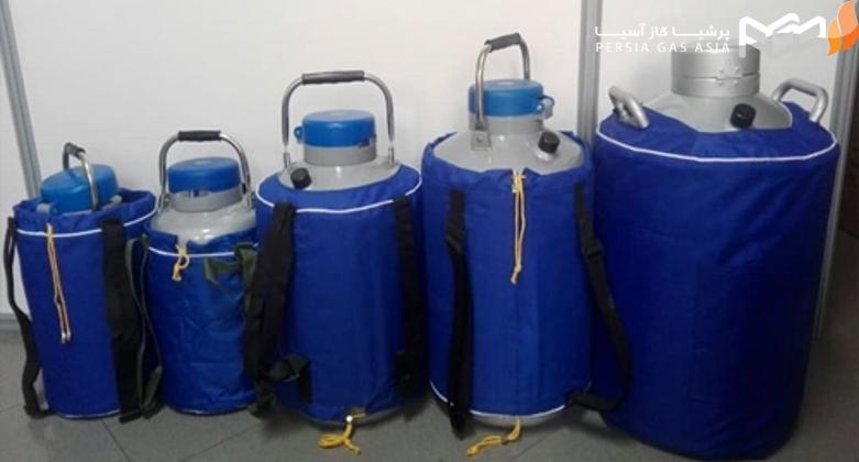 - به چه علتی برای نگهداری از نیتروژن مایع از مخزن، کپسول و یا تانک استفاده می شود؟
