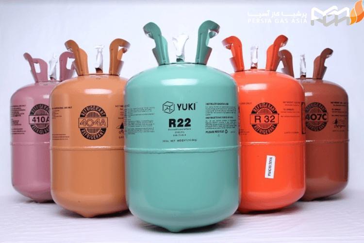 انواع گاز مبرد