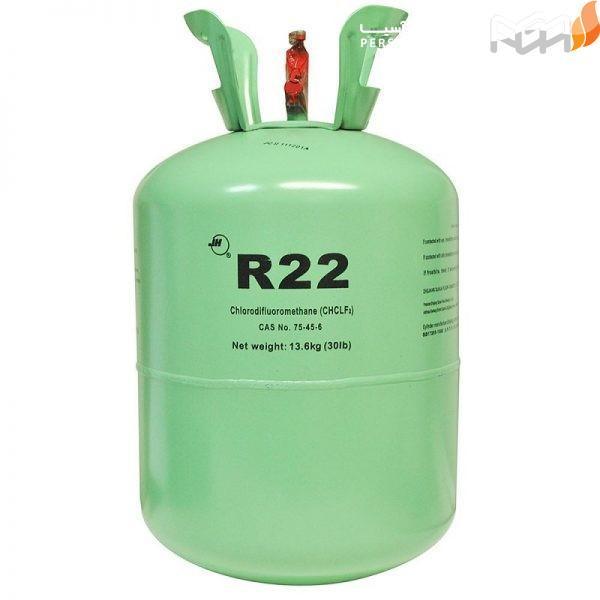قیمت گاز آر22