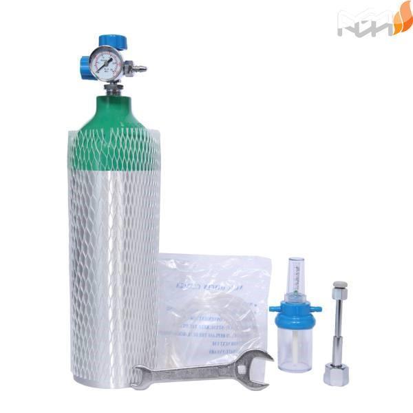 کپسول اکسیژن 2/5 لیتری آلومینیوم
