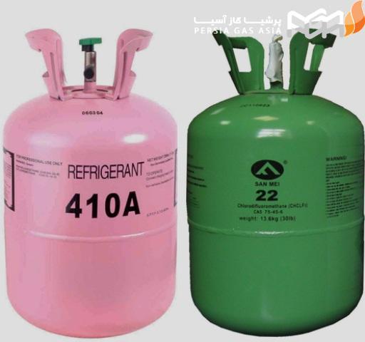 ویژگی های گاز مبرد R410 به قرار ذیل است: