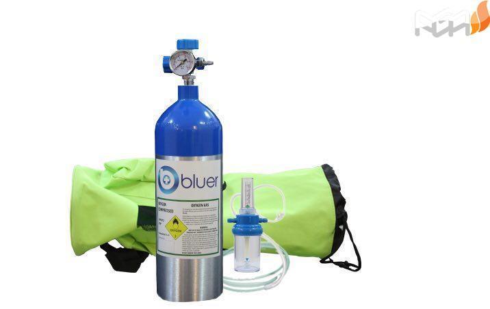 کپسول اکسیژن ۲/۵ لیتری آلومینیوم