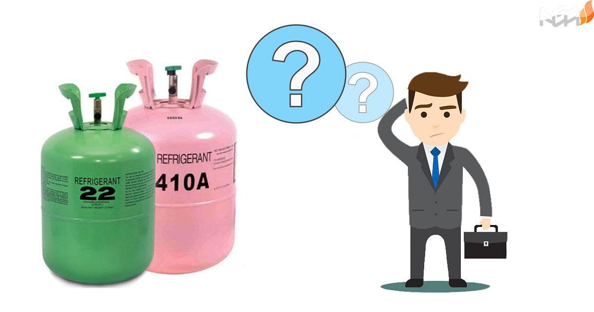 انواع گاز مبرد کدامند؟