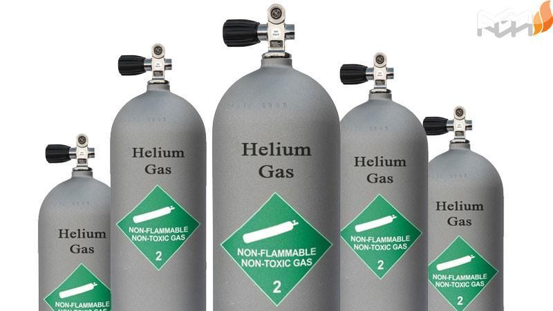 کپسول ۱۰ لیتری هلیوم