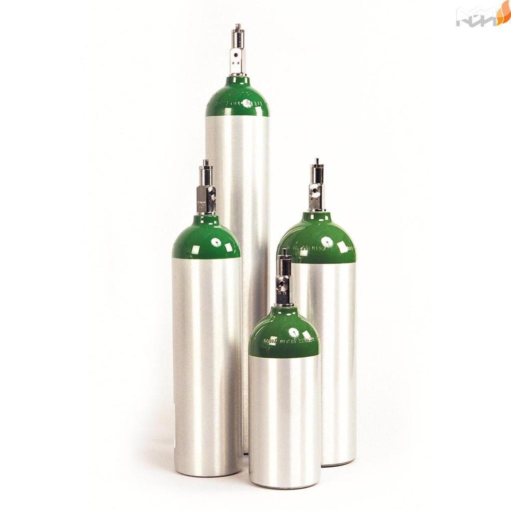 کپسول ۵۰ لیتری اکسیژن