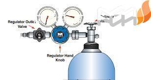 رگولاتور گاز هلیوم (رگولاتور سیلندر هلیوم)