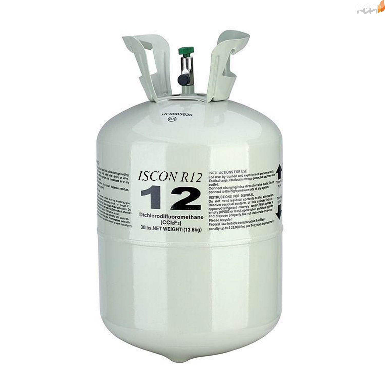 گاز مبرد R12 :