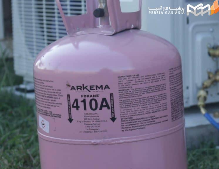 گاز مبرد r410a