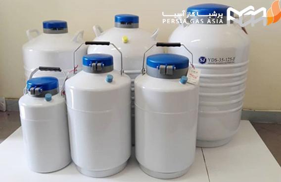 نکات ایمنی که لازم است، در زمان کار با مخزن های نیتروژن مایع رعایت شوند، کدام هستند؟