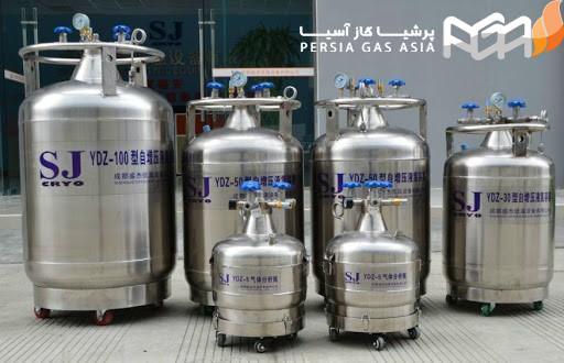 مخزن نیتروژن مایع پزشکی