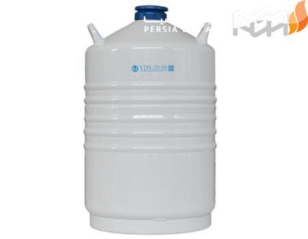 اگر نیتروژن مایع در دماهای بالا قرار بگیرد