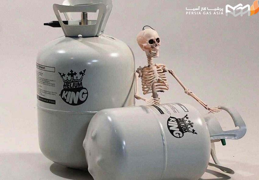 کپسول گاز هلیوم یکبار مصرف