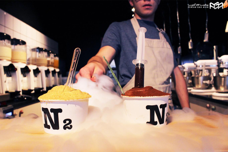 بستنی نیتروژنی تهران