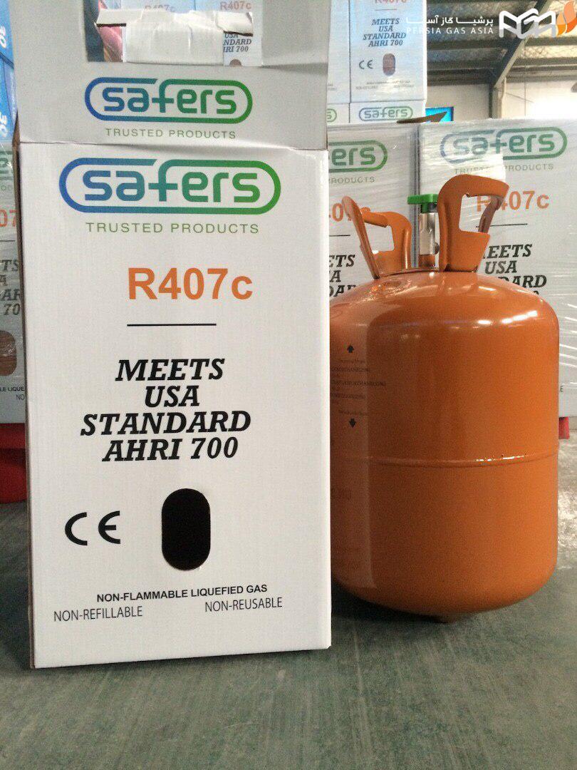 گاز مبرد R407