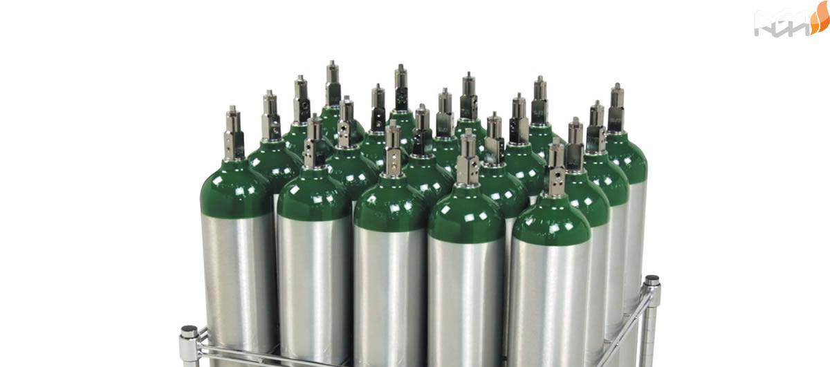 کپسول اکسیژن برای تنگی نفس