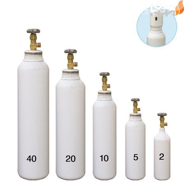 مشخصات کپسول اکسیژن استاندارد